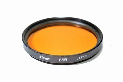 High Quality Optical Glass 85B Filter Made in Japan 49mm Kood